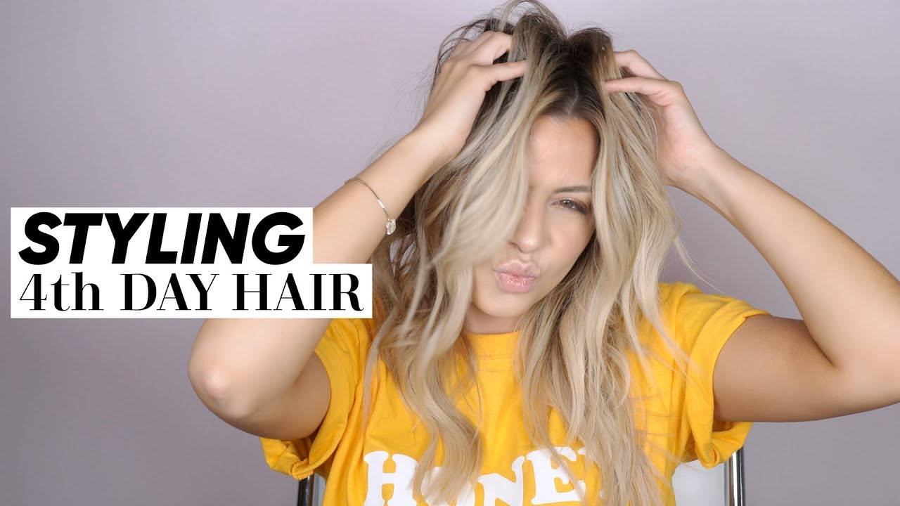 Quick Tips - How To Revive and Style 4th Day Hair