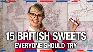 15 British Sweets Everyone Should Try - Anglophenia Ep 22 Video