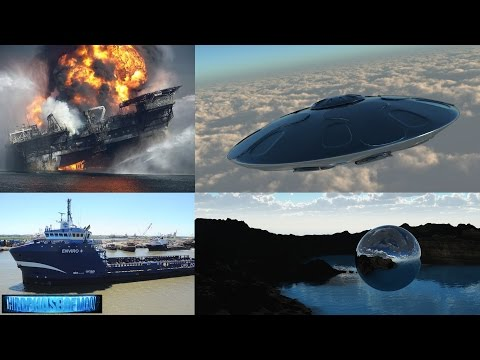 Massive USO Spotted Rising from Gulf of Mexico? BP Deep Horizon UFO Connection? 2017