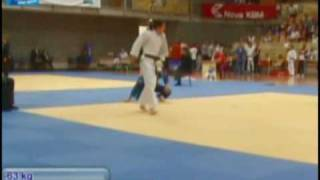 Judo 2009 Koper: Huseynova (AZE) - Krssakova (AUT) [-63kg]