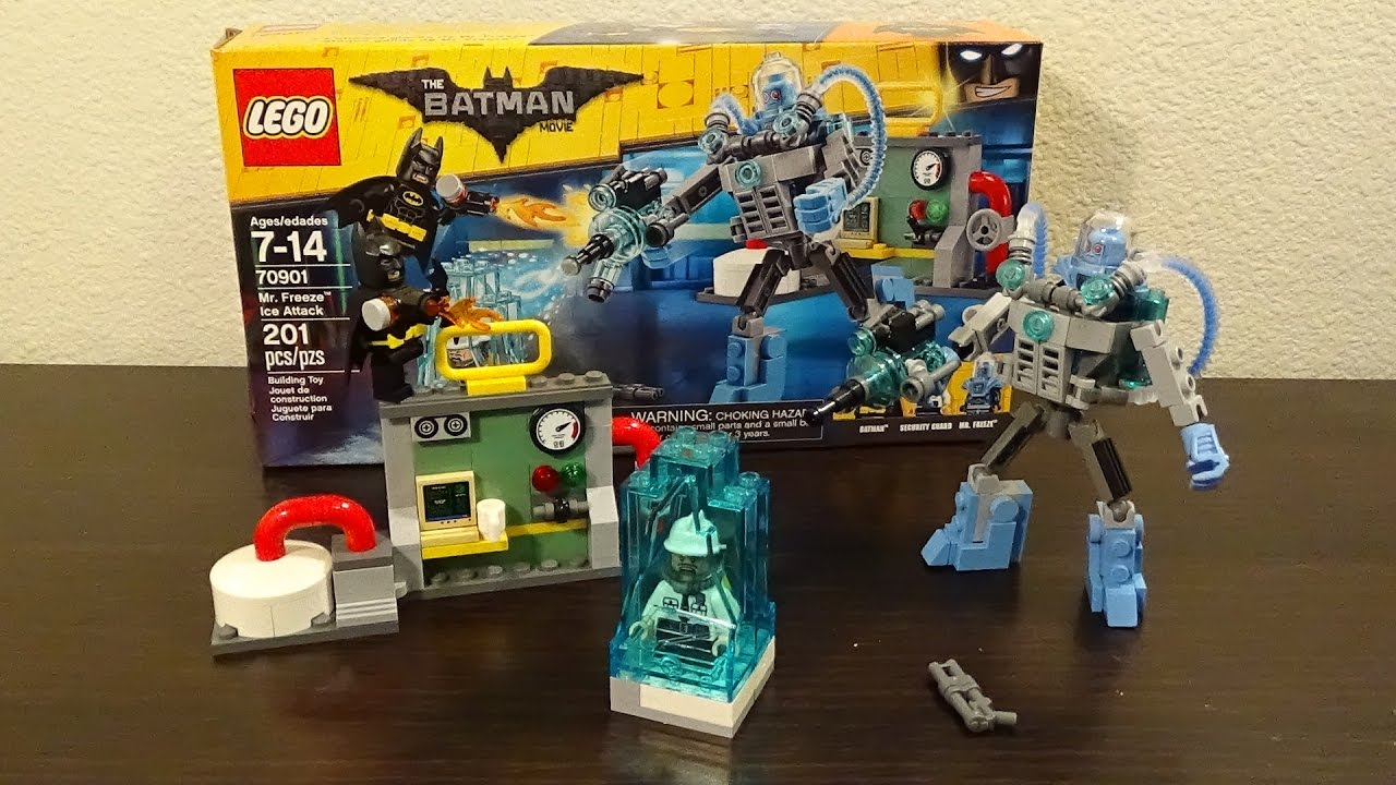 Attack Review The 70901 Batman Mr Movie Ice Set Lego Youtube Freeze 5ARjLq34