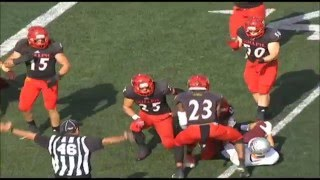 Guelph Gryphons Curtis Newton 2016 CFL Draft Prospect