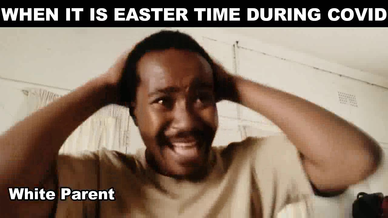 Easter Celebrations (White parent vs African)