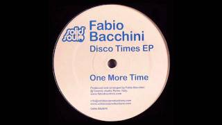 Fabio Bacchini - One more Time