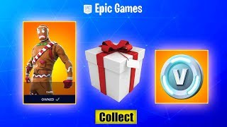 How To Get FREE SKINS EVERYDAY! Fortnite 14 Days Of Christmas! OG RARE SKINS RETURNING & COMING BACK