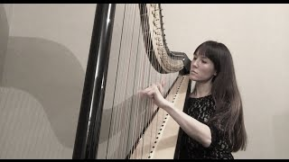 Harp Music - Traditional Irish Celtic music - Ballydesmond polkas 1-2-3 (Camac Clio pedal harp)