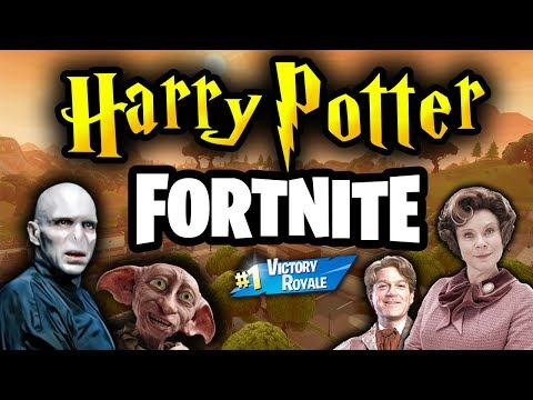 If Harry Potter Characters Played Fortnite