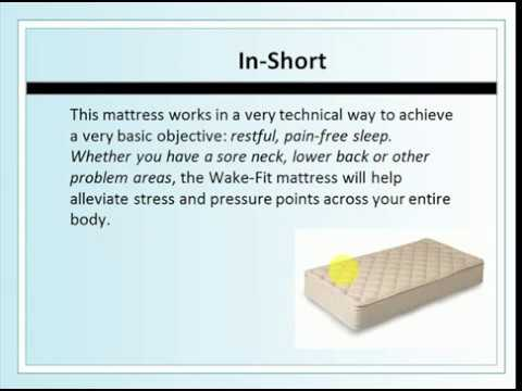 What Type Of Mattress Is Best For Back Pain Wake Fit Orthopaedic Memory Foam Good Choic