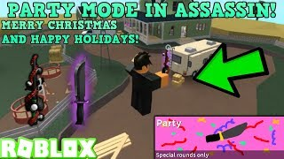 ROBLOX | ASSASSIN: PLAYING SOME PARTY MODE (KRAMPUS GAMEPLAY) *MERRY CHRISTMAS!*