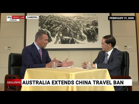 China used WHO in a bid to open Australia's borders