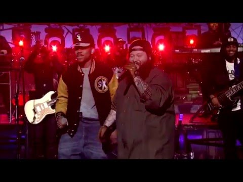 Action Bronson and Chance The Rapper - Baby Blue (Live On David Letterman)
