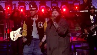 Скачать Action Bronson And Chance The Rapper Baby Blue Live On David Letterman