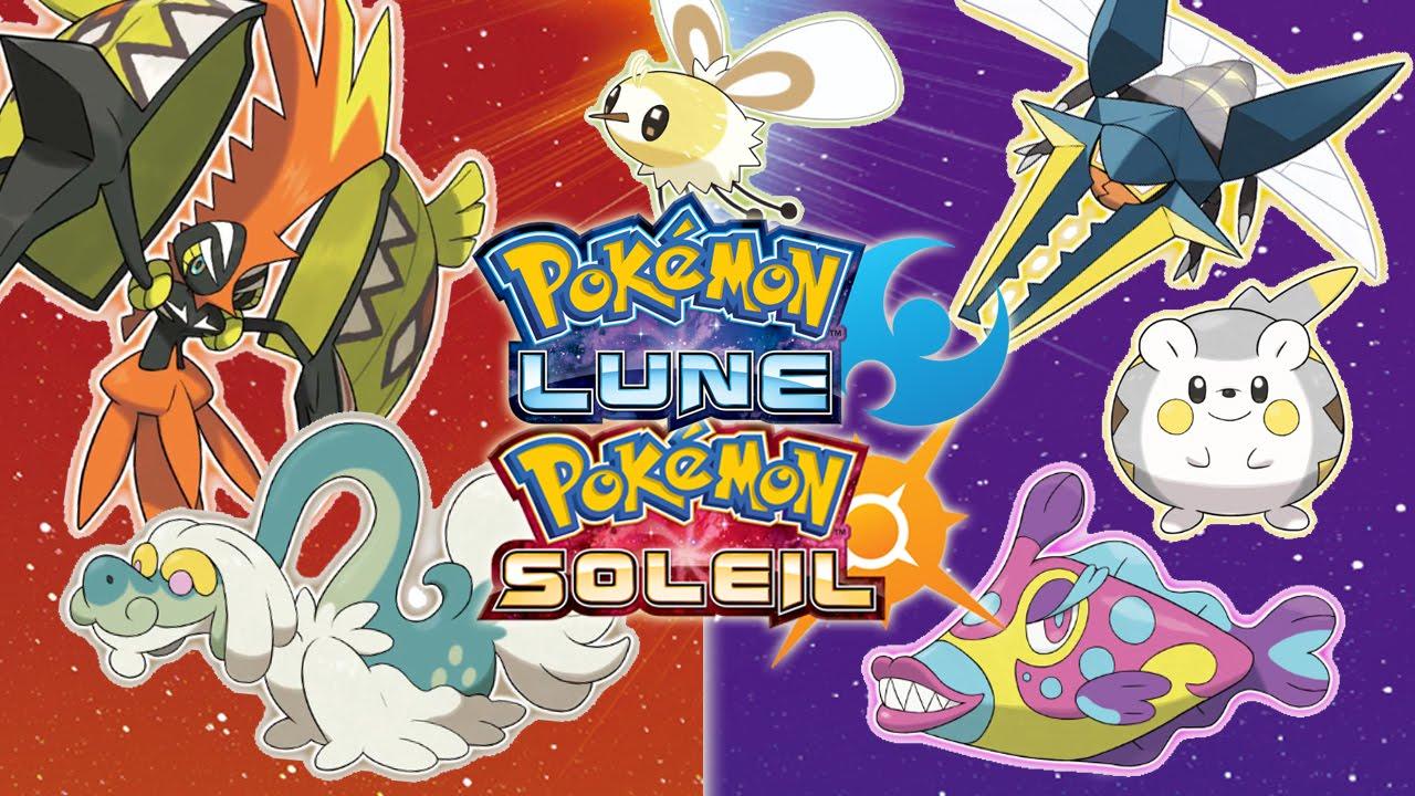 7 nouveaux pokemon wtf sur pok mon soleil pok mon lune youtube - Les mega evolution ...