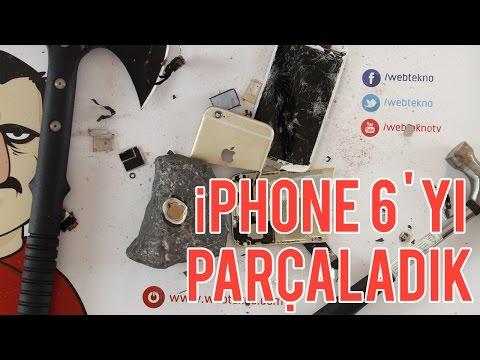 iPhone 6'yı Parçaladık