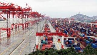 В Китае сообщают о росте экспорта в страны вдоль