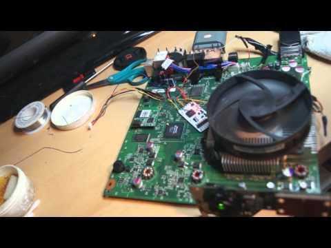 Tutorial Xbox 360 Slim RGH Reset Glitch Hack Start To Finish Noob Friendly Part 2