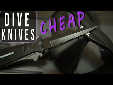 Best Dive Knife Review – 9 Knives from Amazon for Scuba and Spearfishing
