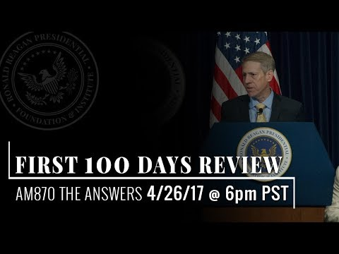 First 100 Days Review — 4/26/17