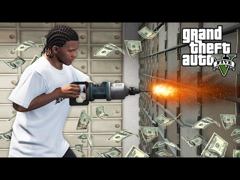 ROBBING BANKS & HOUSES!! Real Life Gangster Mod #2 (GTA 5 Mods)
