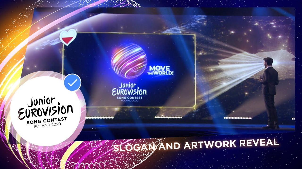 Artwork and Slogan for Junior Eurovision 2020 revealed!