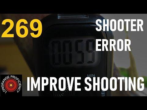 Longrange blog 269: Shooter Error exercise