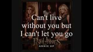 pistol annies   unhappily married lyrics on screen