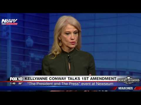 FNN: KellyAnne Conway Speaks About Freedom of Press and First Amendment Under Trump Administration