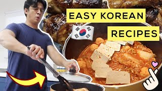 Korean Fried Chicken + Kimchi Jjigae: Easy Korean Recipes 🇰🇷