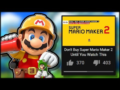 This Super Mario Maker 2 Video Is Terrible