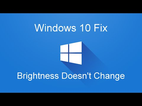 Windows 10 Fix: Laptop Brightness Doesn't Change