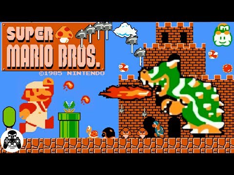 Super Mario Bros. NES/Famicom/Dendy прохождение [60fps]