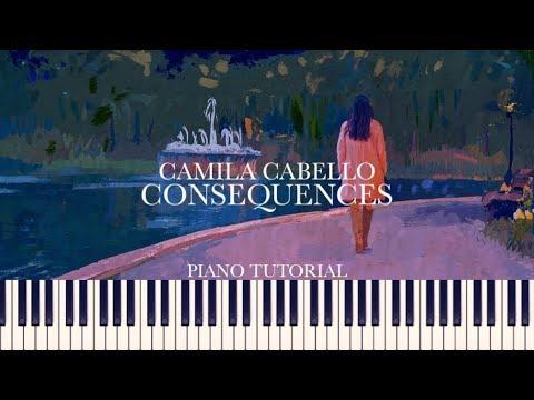 Camila Cabello - Consequences (orchestra) [Piano Tutorial + Sheets]