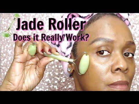💕Jade Roller Does it Work? How To Demo💕