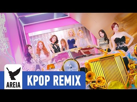 Girls' Generation - You Think | Areia Kpop Remix #191