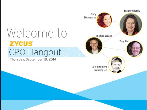 CPO Hangout - Is Responsible Procurement The Way Forward? - September 2014