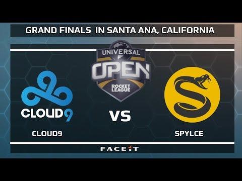 Cloud9 vs Spylce - WB R1 - Universal Open Rocket League Grand Finals
