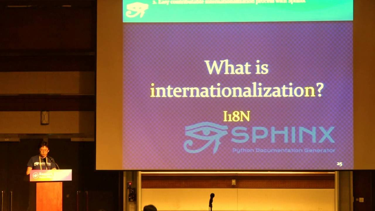 Image from Easy contributable internationalization process with Sphinx