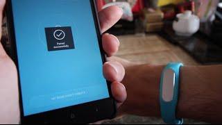 Configuration de MiFit et installation du bracelet connecté Xiaomi Miband 1S