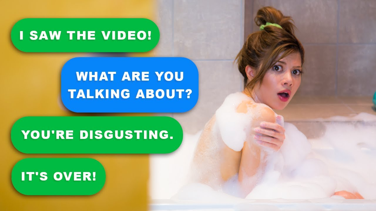 SOMEONE FILMED ME IN THE BATH - Yarn App