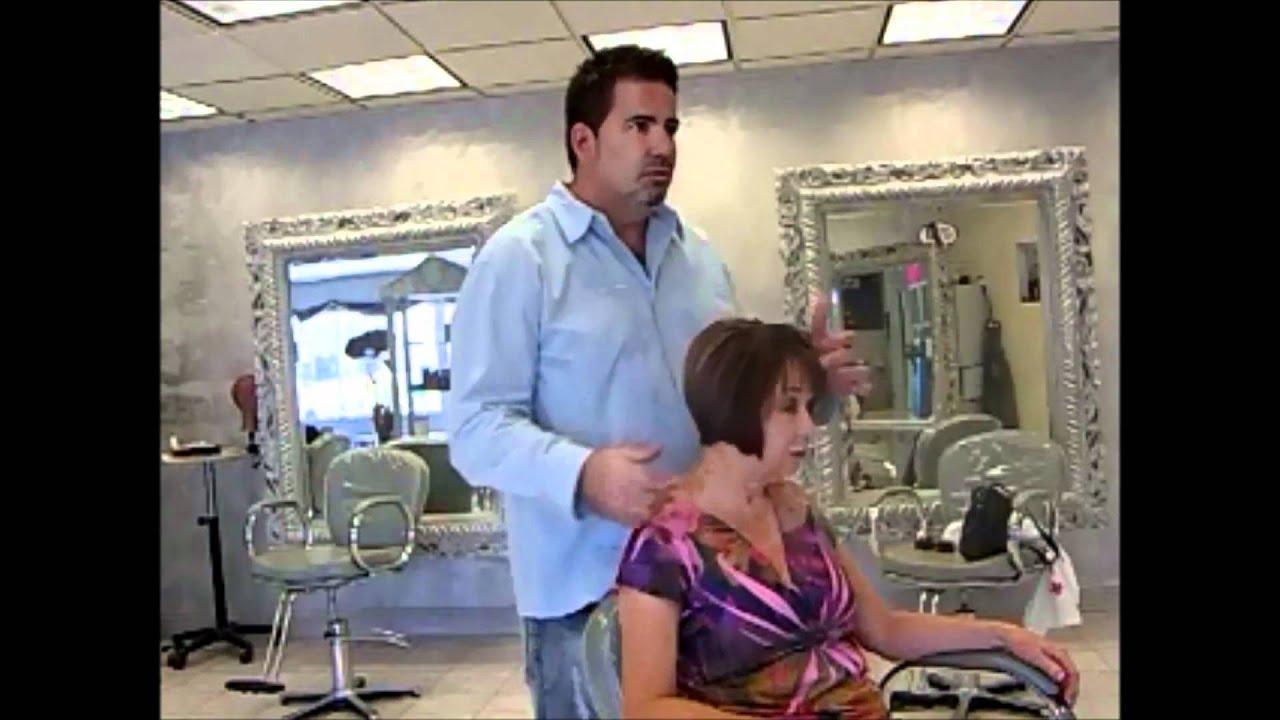 Salvatore Hair Salon In Fort Myers Fl Short Hair Cut Testimonial