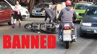 China, How it is - Why Motorbikes are Banned in Cities