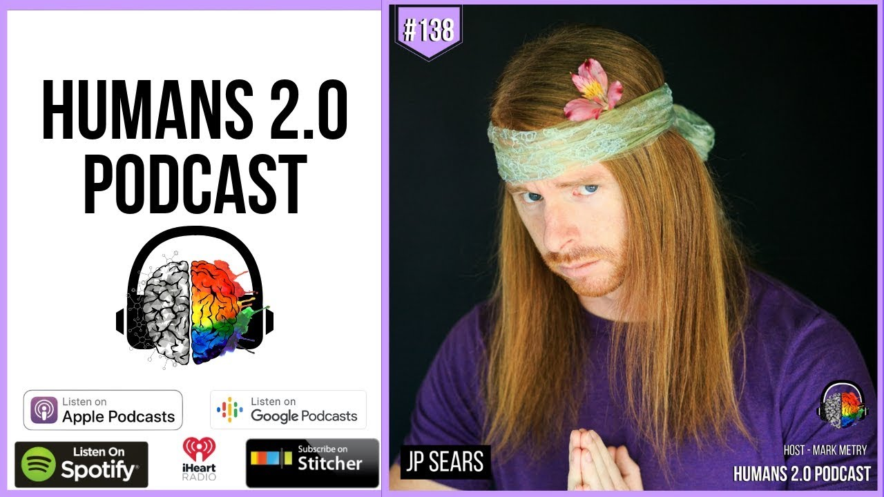 25581a19c308 Read more JP Sears is a YouTuber, comedian, emotional healing coach,  author, speaker, world traveler, and curious student of life. His work  empowers people ...