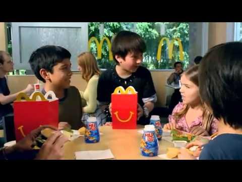 Anna Clark   McDonald's Megamind Toys Commercial 2010