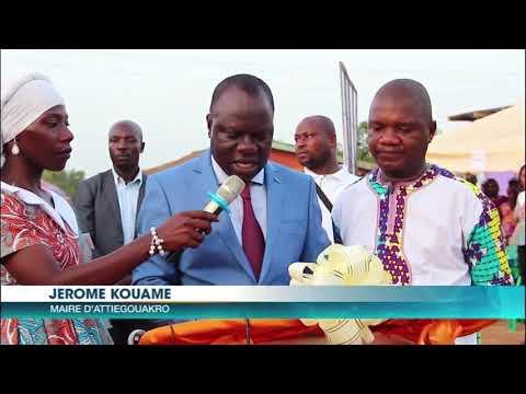 Société : La ministre de l'éducation nationale inaugure un college à Toumodi