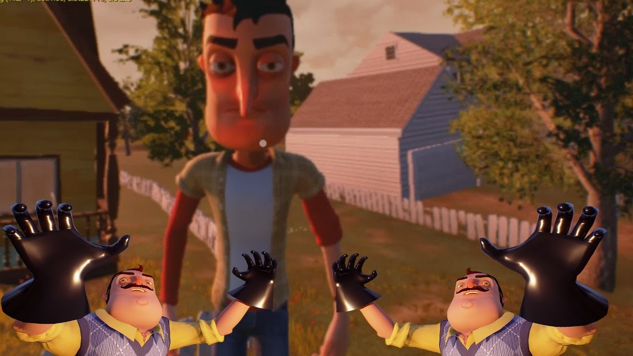 how to change the controls on hello neighbor