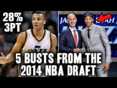 5 Busts From The 2014 NBA Draft | What Happened To Dante Exum?