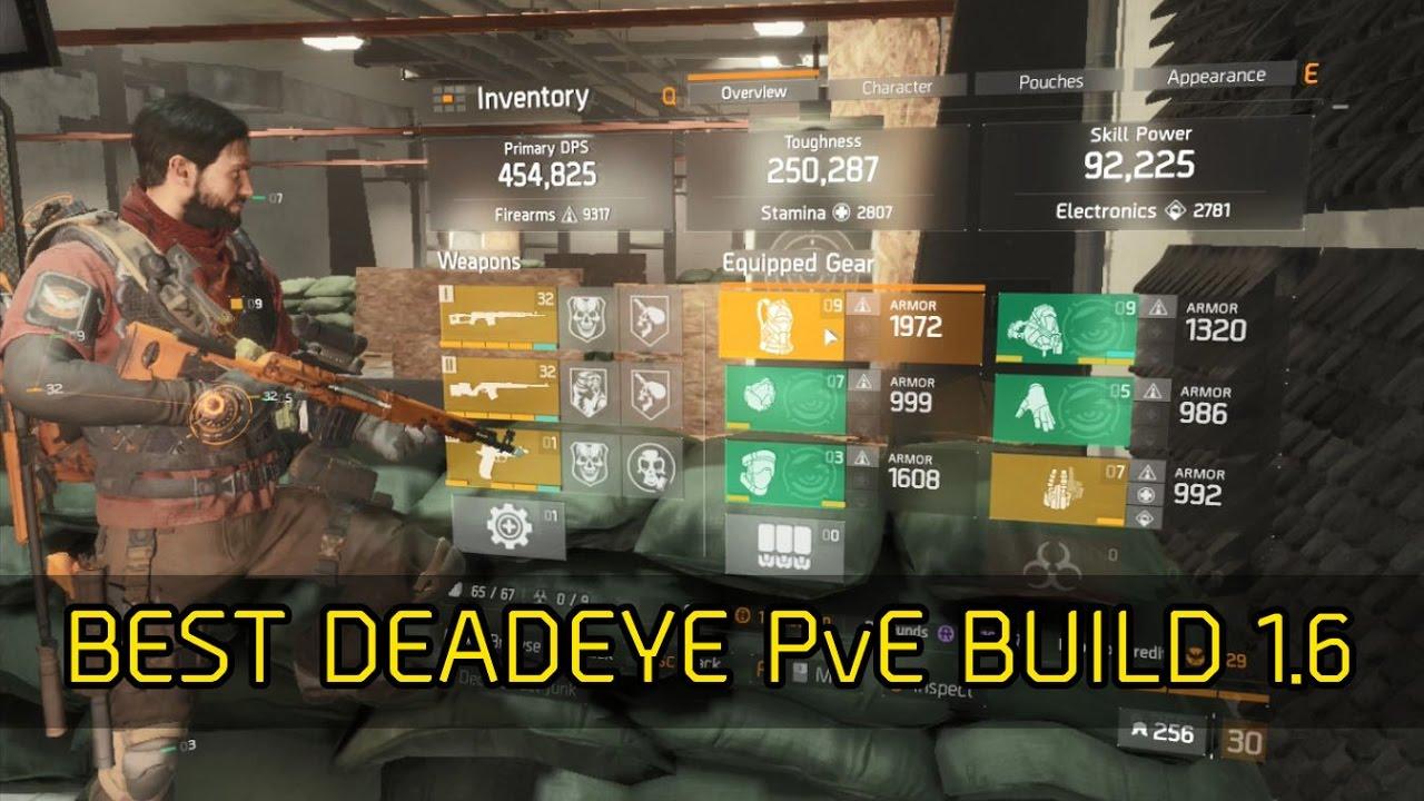 Best Pve   Division Build