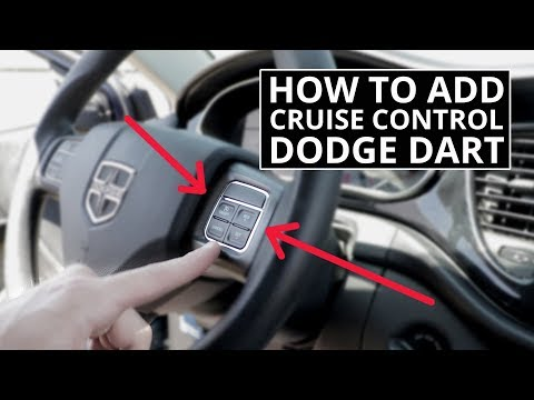 How To Add Factory Cruise Control To Dodge Dart - No Trip To Dealer Or Programming Required