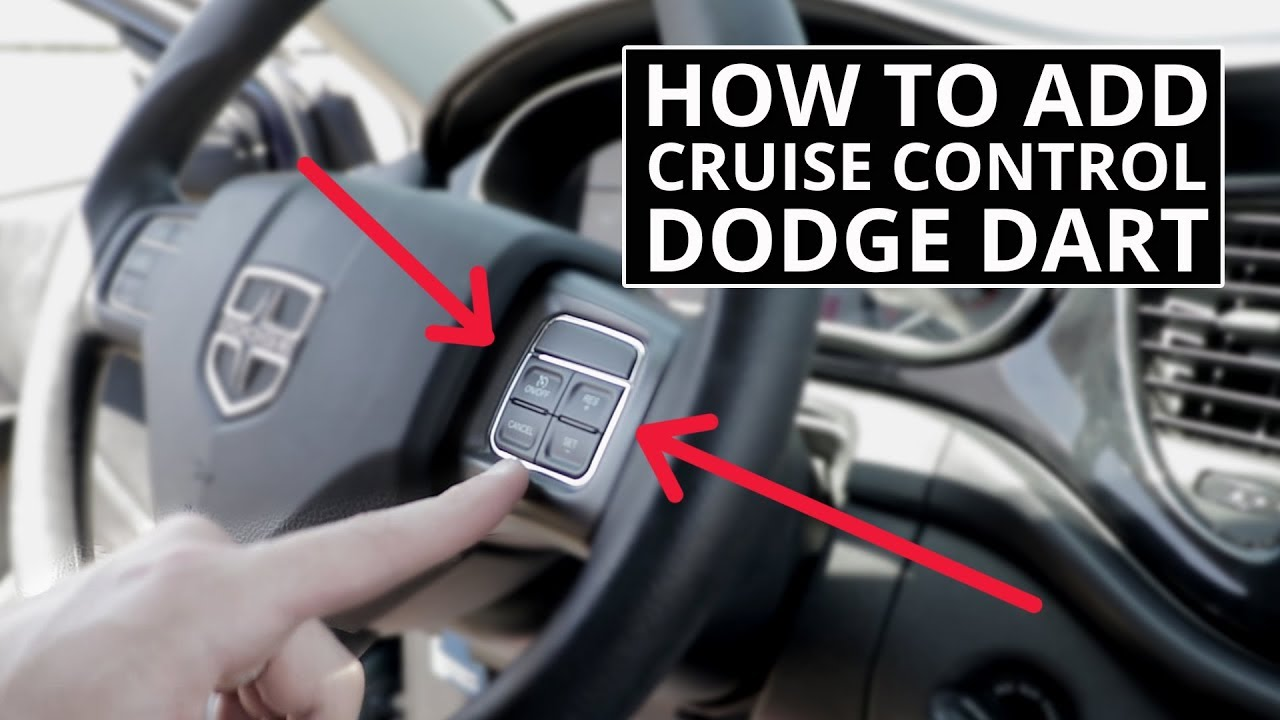 How To Add Factory Cruise Control To Dodge Dart No Trip