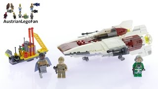Lego Star Wars 75175 A-Wing Starfighter™ - Lego Speed Build Review